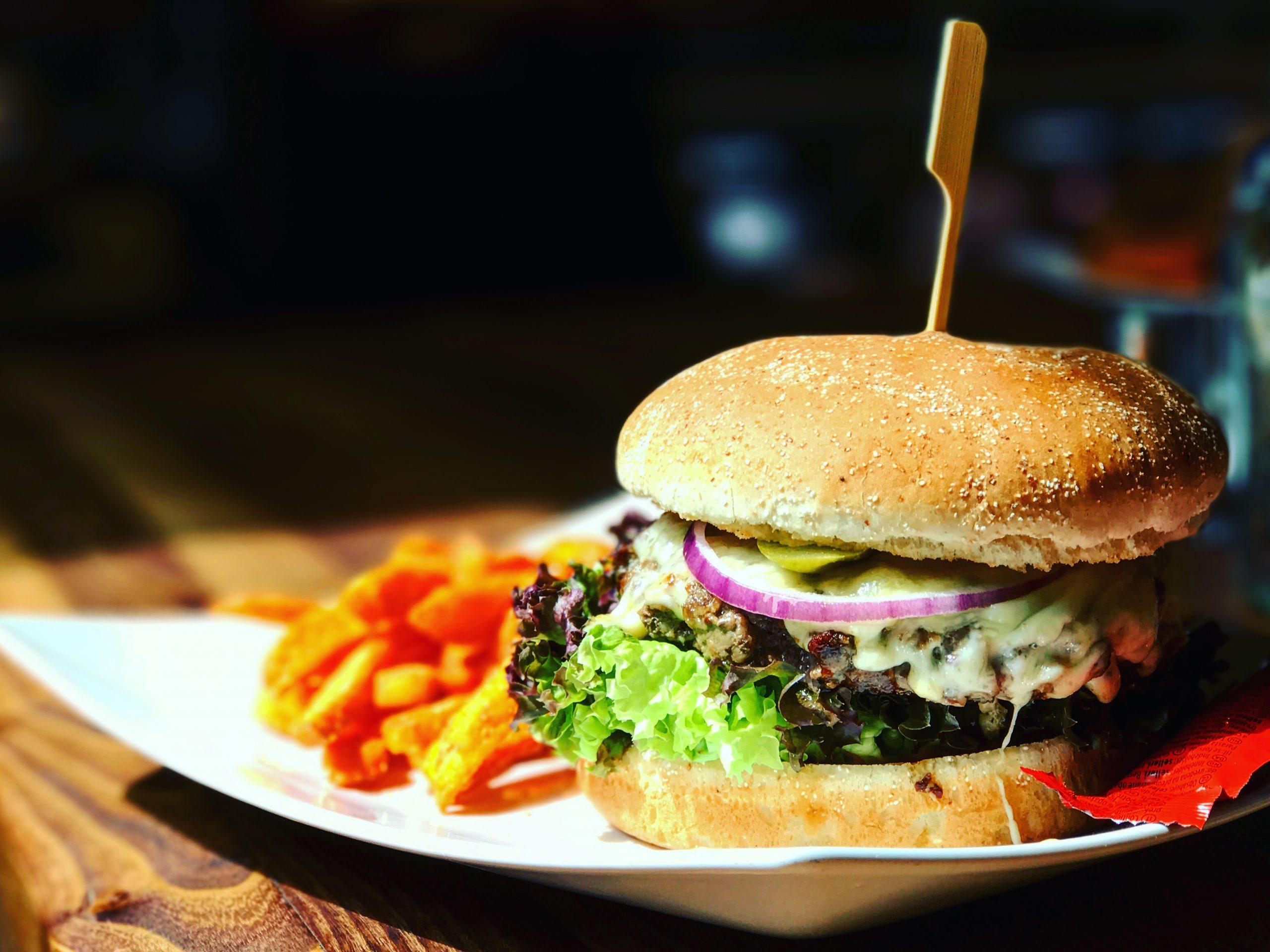 Hauptgerichte Speisen Burger